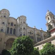 Vue de Malaga Voyage Europe