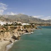 Littoral de Nerja Espagne Europe Voyage