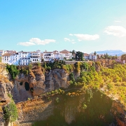 Panoramique de Ronda Espagne Europe Voyage