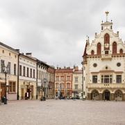 Hôtel de ville de Rzeszow POlogne Europe Voyage