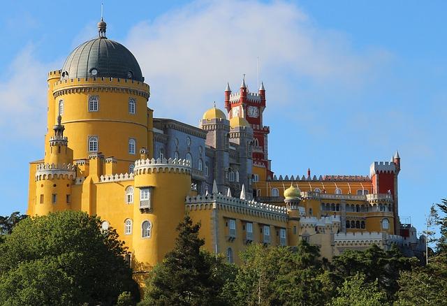 Palais de Pena, Sintra Portugal Europe Voyage
