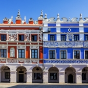 Zamosc, hôtel de ville Pologne Europe Voyage