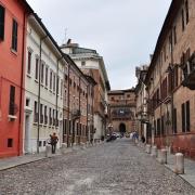 Corso Ercole Ier d'Este, Ferrare, Italie Europe Voyage