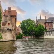 Canal de Bruges, Belgique Europe Voyage