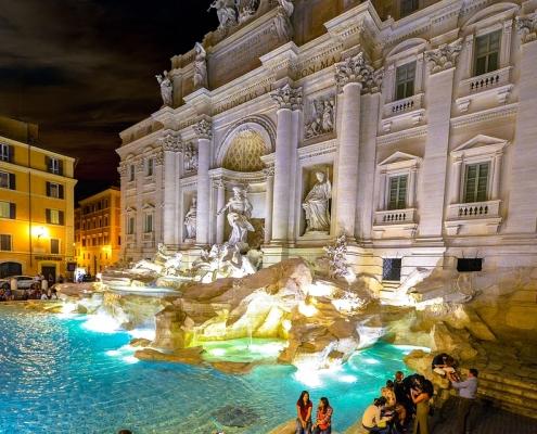 Fontaine de Trévi Rome Europe Voyage