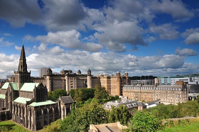Glasgow, Écosse Europe Voyage