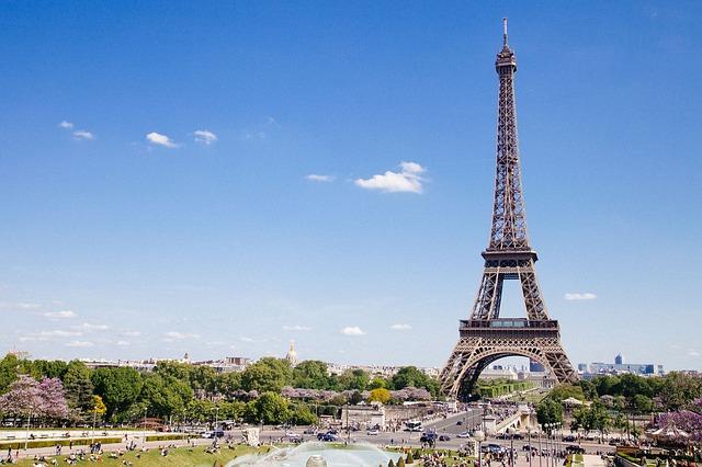 Tour Eiffel, Paris, France Europe Voyage