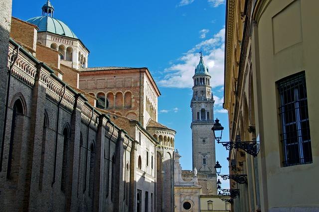 Vue de Parme, Italie Europe Voyage