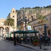 Rue de Cefalu Sicile Europe Voyage