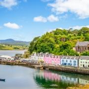 Portree, Écosse Europe Voyage