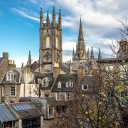 Aberdeen, Ecosse Europe Voyage