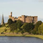 Château d'Inverness, Écosse Europe Voyage