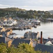 Port de Oban, Écosse Europe Voyage