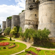 Angers Château France Europe Voyage