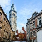 Tour de l'horloge, Mons, Belgique Europe Voyage
