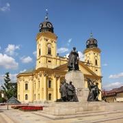 église réformée de Debrecen. Hongrie Europe Voyage