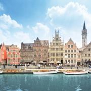 Gand, Belgique Europe Voyage