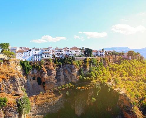 village de Ronda Espagne Europe Voyage