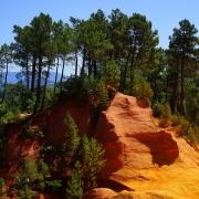 L'ocre de Roussillon France Europe Voyage