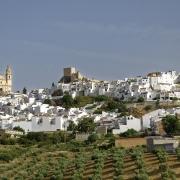 Vue d'Olvera Espagne Europe Voyage