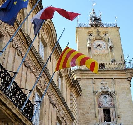 Place de la mairie , Avignon France Europe Voyage