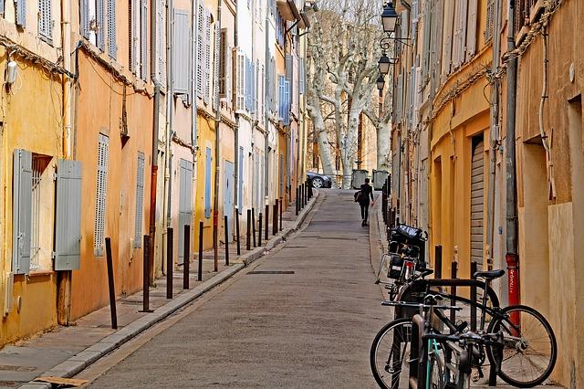 Ruelle d'Aix-en-Provence France Europe Voyage