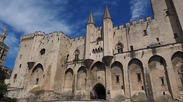 Avignon palais des papes France Europe Voyage