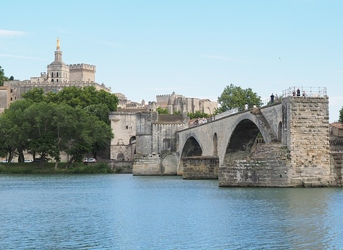 Pont St Benezet, Avignon France Europe Voyage
