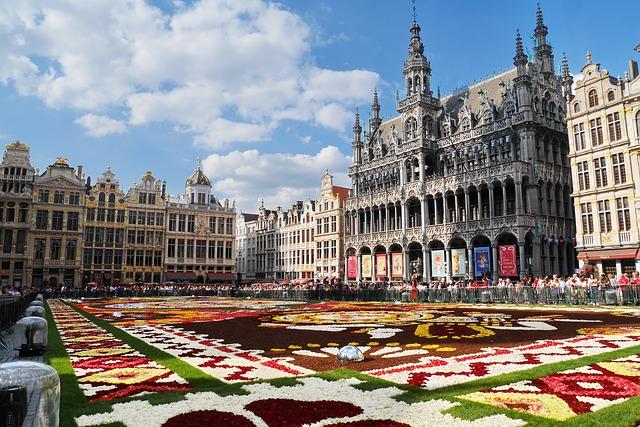 Grande Place Bruxelles Belgique Europe Voyage