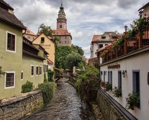 Ceske Krumlov République Tchèque Europe Voyage