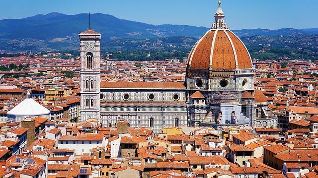 Vue de Florence et du Doumo Italie Europe Voyage
