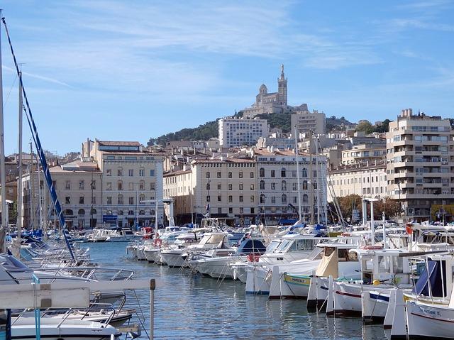 Vieux Port de Marseille France Europe Voyage
