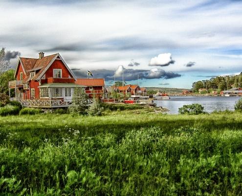 Alnon Suede Scandinavie Voyage