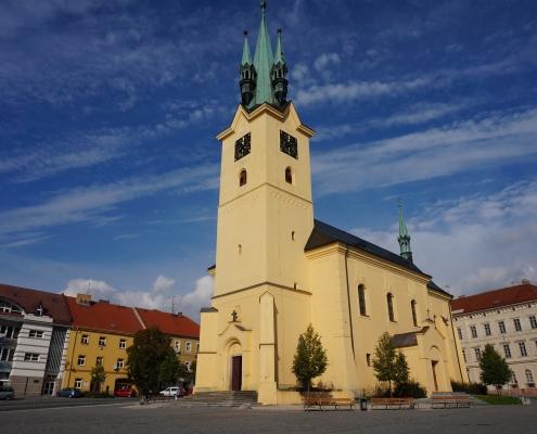 Eglise de Priham République Tchèque Europe Voyage