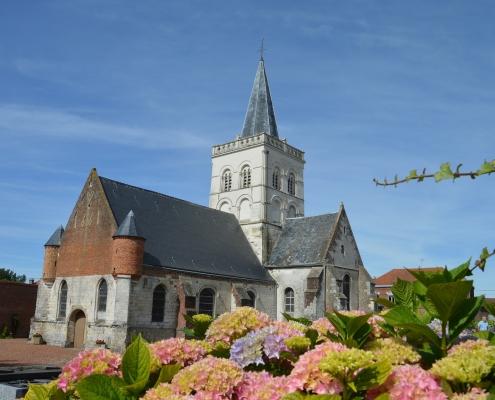 Eglise de Ecques Nord pas de Calais France Europe Voyage