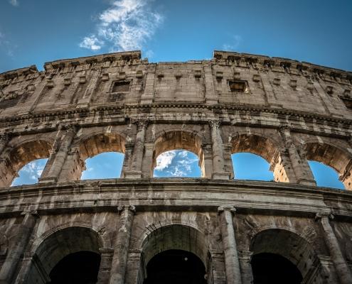 Le Colisée à Rome Italie Europe Voyage