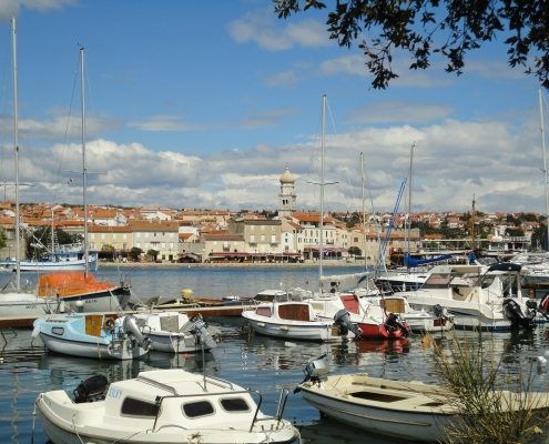 Port de l'île de Krk Croatie Europe Voyage