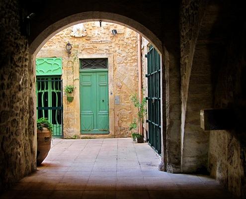 Ruellevillage typique du Languedoc France Europe Voyage