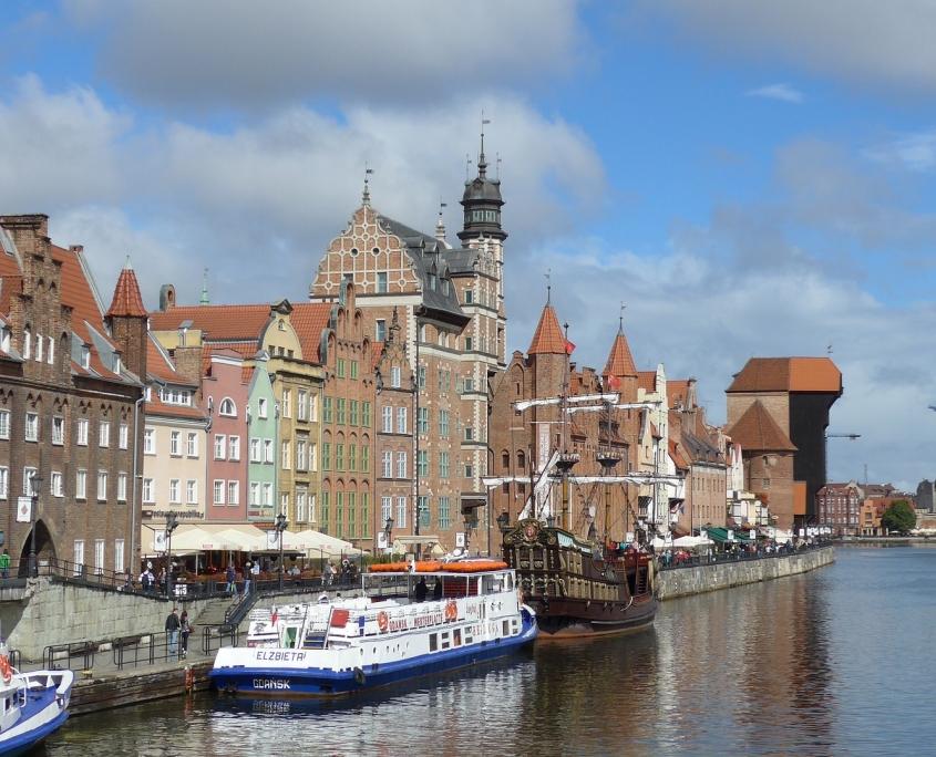Gdansk Pologne Europe Voyage