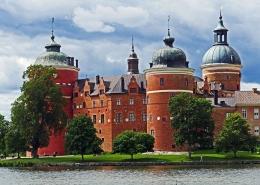 château Gripsholm Suède Scandinavie Voyage