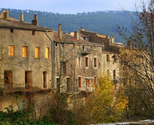 Village du Languedoc France Europe Voyage
