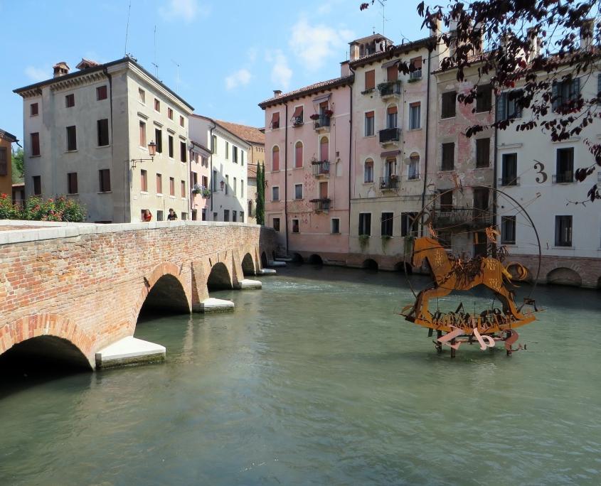 Jolie ville de Trévise Italie Europe Voyage