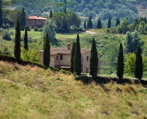 Campagne toscane Italie Voyage Europe