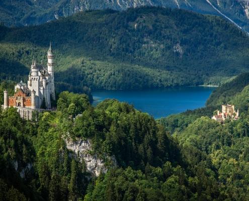 Château en Bavière Allemagne Europe Voyage