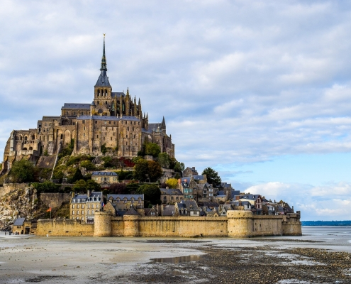 le mont St Michel Bretagne France Europe Voyage