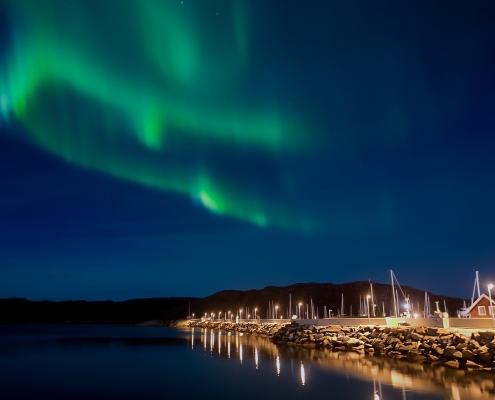 Aurore boréale Norvège voyage