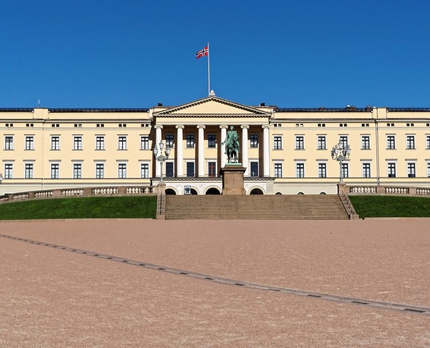 Château royal, Oslo Norvège voyage