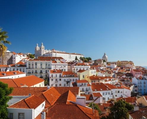 Vue de Lisbonne Portugal Europe Voyage