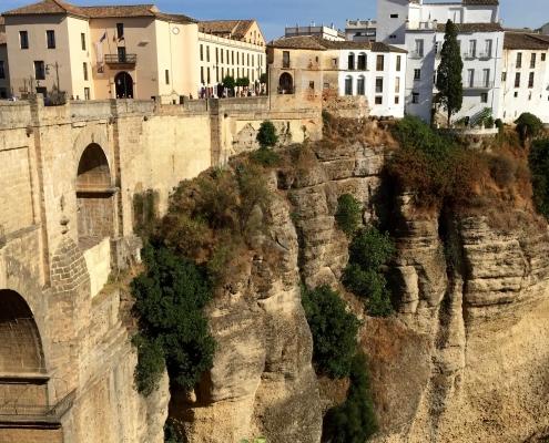 Village blanc, Ronda, Andalousie Espagne Voyage