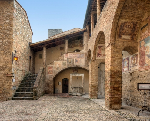 San Gimignano village Italie Europe Voyage